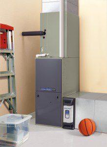 American Standard furnace installation
